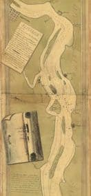 Map - 1778 – Plan of the Part of the River Delaware from Chester to Philadelphia