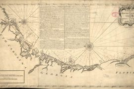 Map - 1778 – A Draught of South Carolina and Georgia from Sewee to St. Estaca