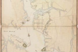 Map - 1782 – A Plan of Portsmouth Harbour in the Province of Virginia