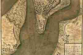 Map - 1781 – Carte Detaillee de West Point sur la Riviere d'York