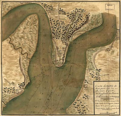 Map - 1781 – Carte Detaillee de West Point sur la Riviere d'York