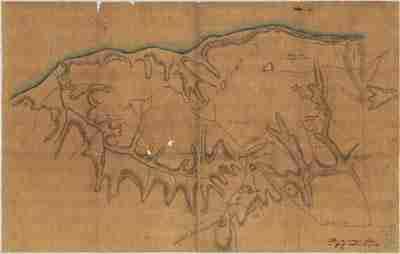 Map - 1781 – Plan des Overages faits a Yorktown en Virginie