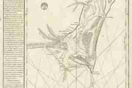 Map - 1780 – Plan de la Riviere du Cap Fear depuis la Barre Jusques a Brunswick