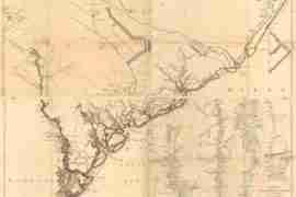 Map - 1777 – Caroline Meridionale et Partie de la Georgie