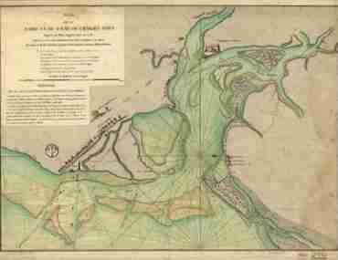 Map - 1778 – Plan de la Barre et du Havre de Charlestown d'apres un plan Anglois leve en 1776