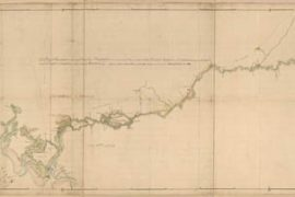 Map - 1752 – A Map of Savannah River Beginning at Stone-Bluff