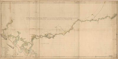 Map - 1752 – A Map of the Savannah River