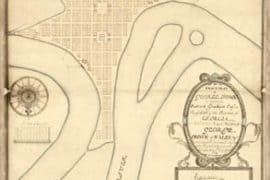 Map - 1754 – An Exact-plan of George-Town so named by Patrick Graham, Esqr.