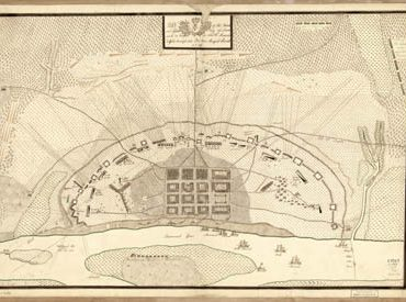 Map - 1779 – Plan of the French and Rebels Siege of Savannah in Georgia