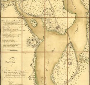 Map - 1777 – Plan of Carillon ou Ticonderoga