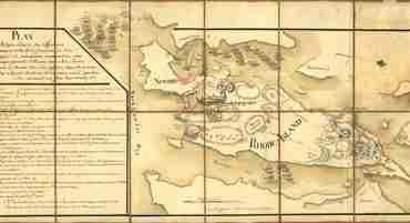 Map - 1778 – Plan de Rhode Island