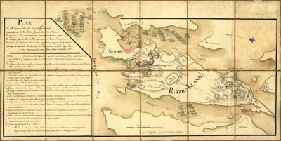 Map - 1778 – Plan de Rhode Island