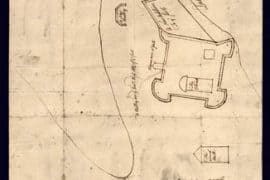 Map - 1755 – Fort at Crown Point in New York
