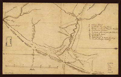 Map - 177? - Map of the Coast of New Jersey from Barnegat Inlet to Cape May