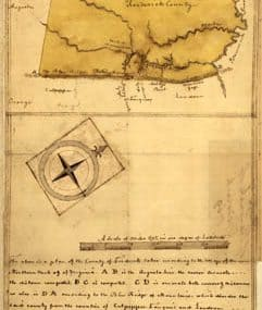 Map - 1769 – Map of the County of Frederick