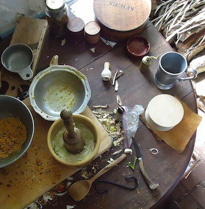 American Colonial Food Preparation
