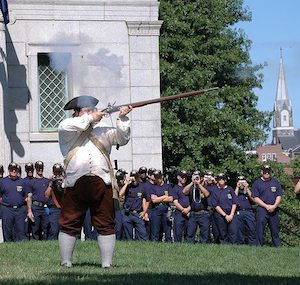 Living History Demonstration at Bunker Hill