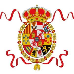 1748-1785 Spanish Flag