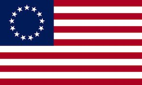 13-Star United States Flag