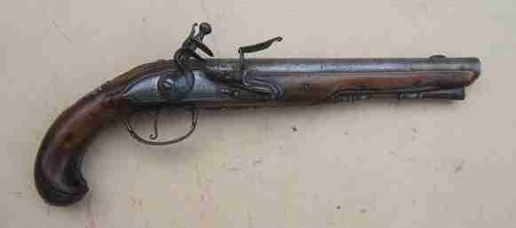 American Revolution French Flintlock Officer's Pistol