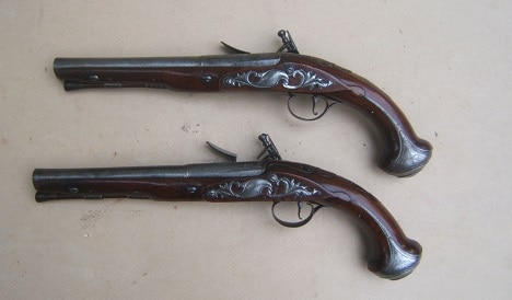 American Revolution British Flintlock Officer's/Holster